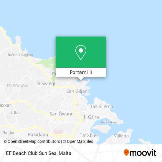 Mappa EF Beach Club Sun Sea