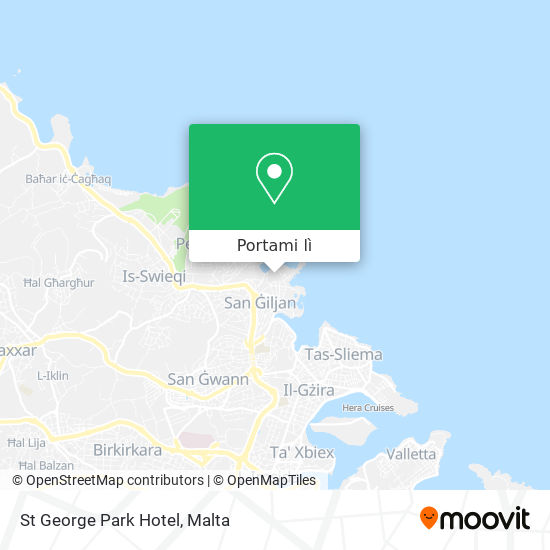 Mappa St George Park Hotel