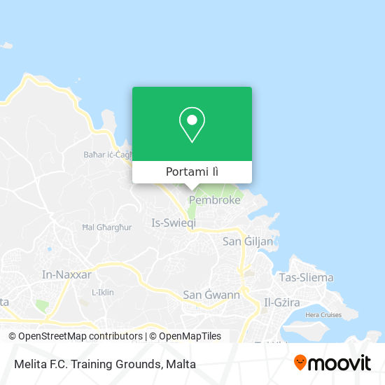 Mappa Melita F.C. Training Grounds