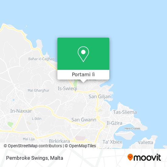 Mappa Pembroke Swings
