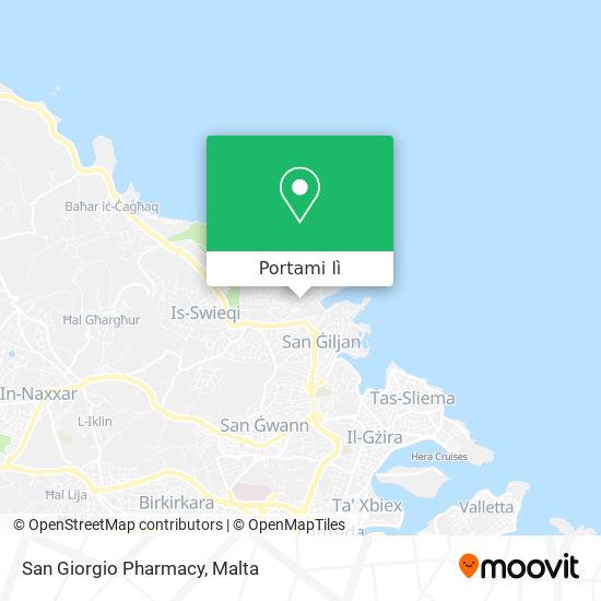 Mappa San Giorgio Pharmacy