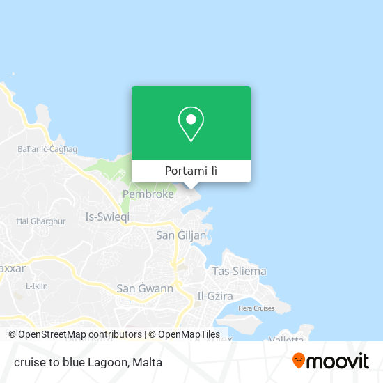 Mappa cruise to blue Lagoon
