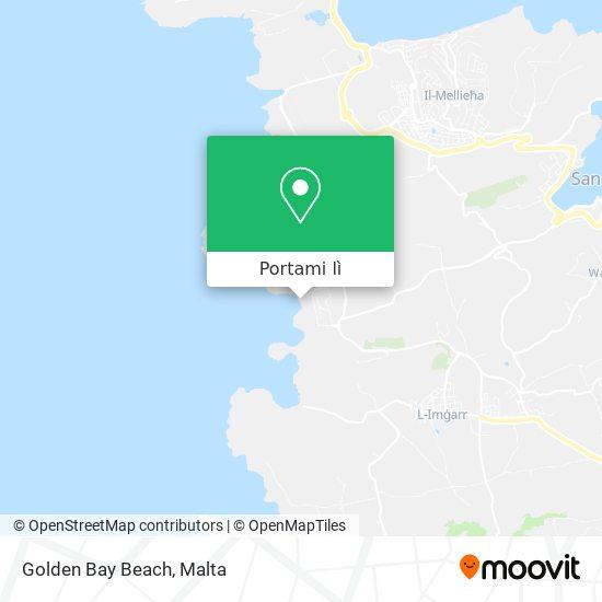 Mappa Golden Bay Beach