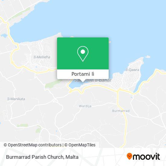 Mappa Burmarrad Parish Church