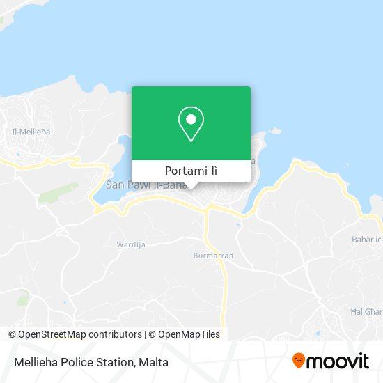 Mappa Mellieha Police Station