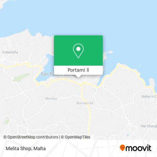 Mappa Melita Shop