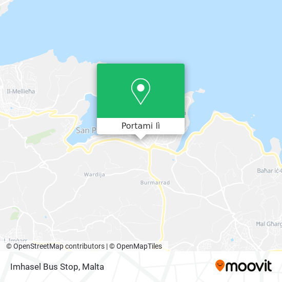 Mappa Imhasel Bus Stop