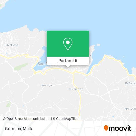 Mappa Gormina