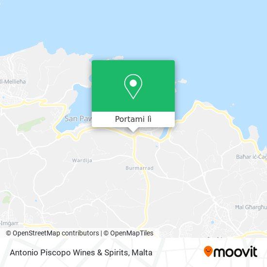 Mappa Antonio Piscopo Wines & Spirits