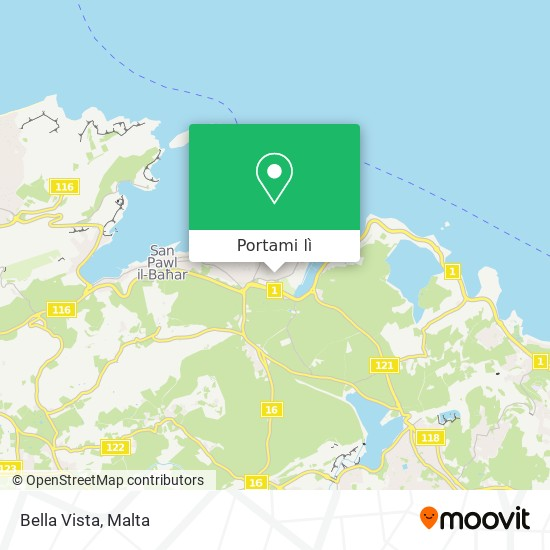 Mappa Bella Vista