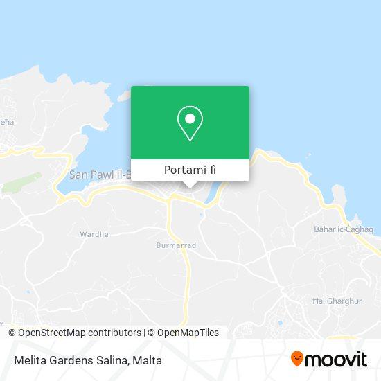 Mappa Melita Gardens Salina