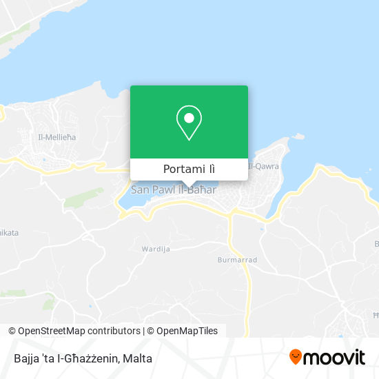Mappa Bajja 'ta I-Għażżenin