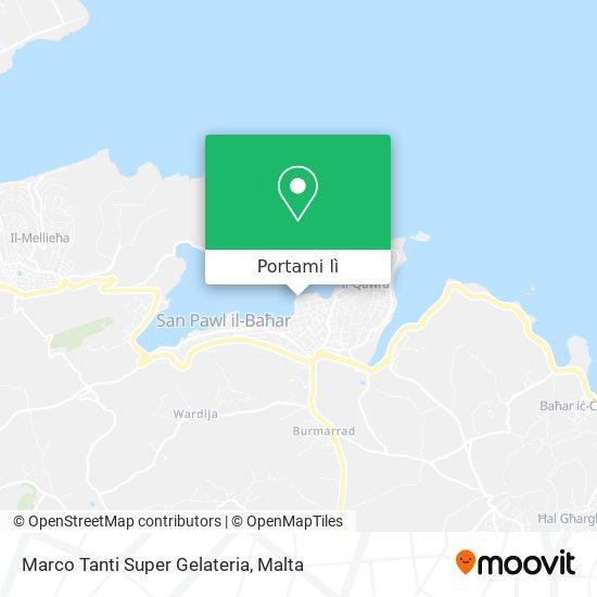 Mappa Marco Tanti Super Gelateria