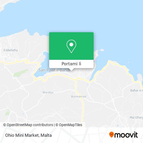 Mappa Ohio Mini Market