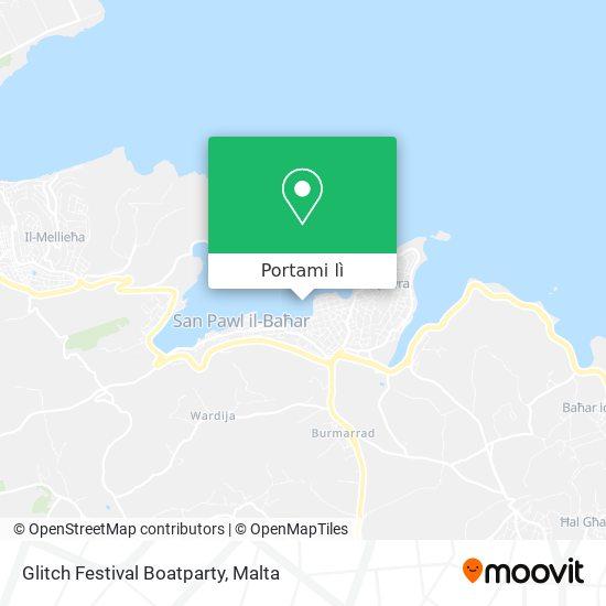 Mappa Glitch Festival Boatparty