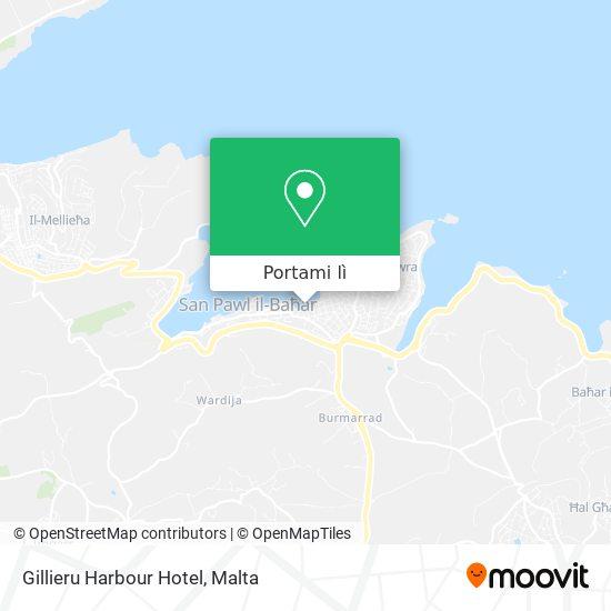 Mappa Gillieru Harbour Hotel
