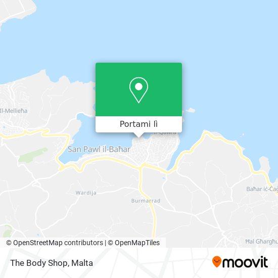 Mappa The Body Shop