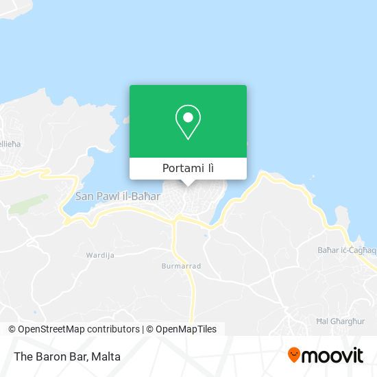Mappa The Baron Bar