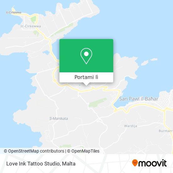 Mappa Love Ink Tattoo Studio