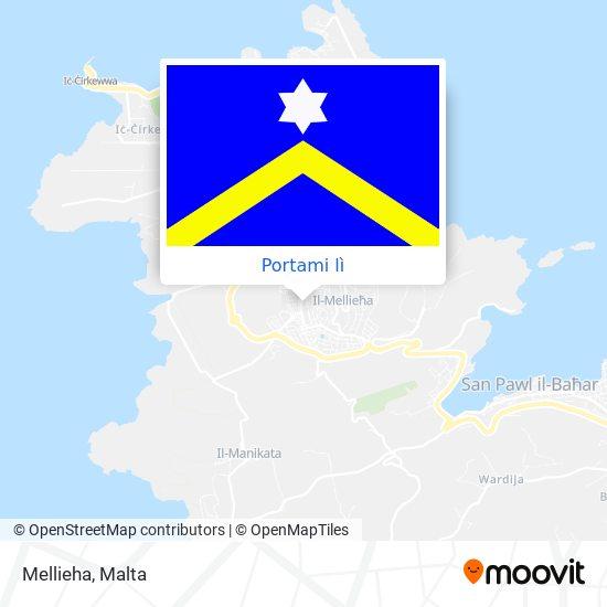 Mappa Mellieha