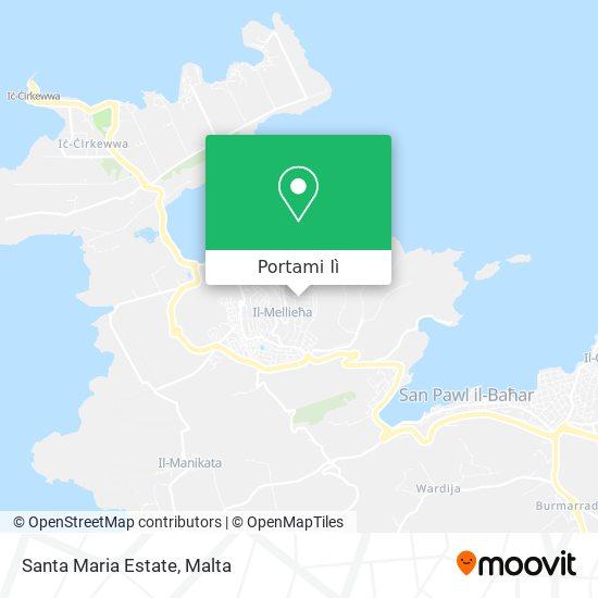 Mappa Santa Maria Estate