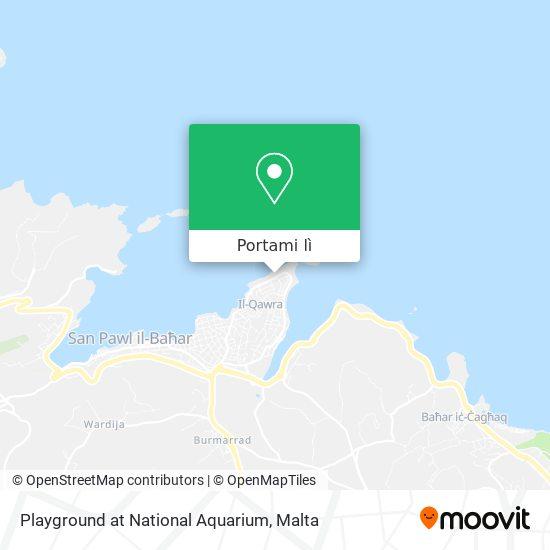 Mappa Playground at National Aquarium