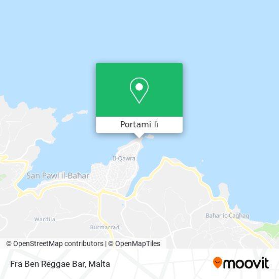 Mappa Fra Ben Reggae Bar