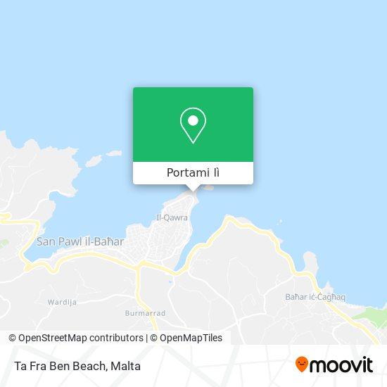 Mappa Ta Fra Ben Beach
