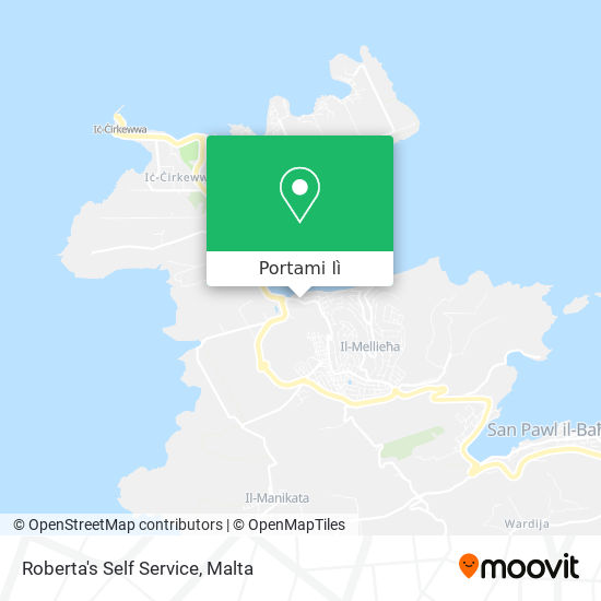 Mappa Roberta's Self Service