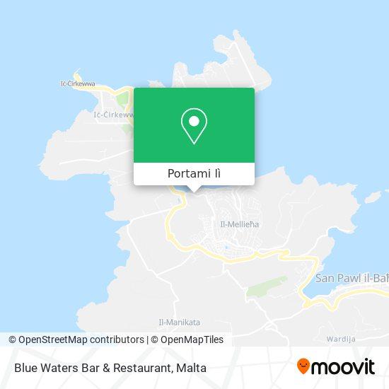 Mappa Blue Waters Bar & Restaurant
