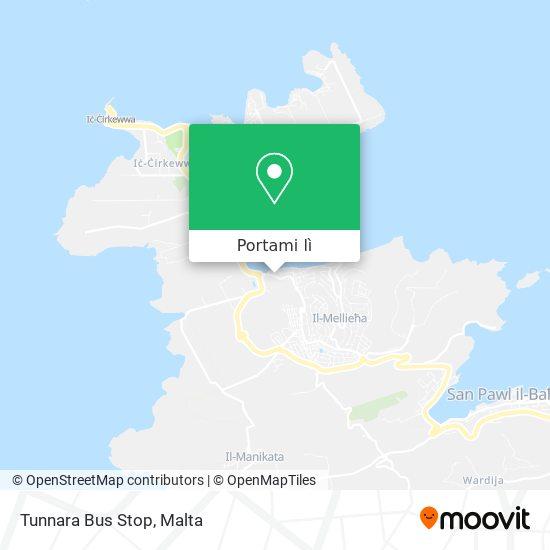 Mappa Tunnara Bus Stop