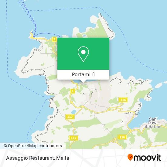 Mappa Assaggio Restaurant