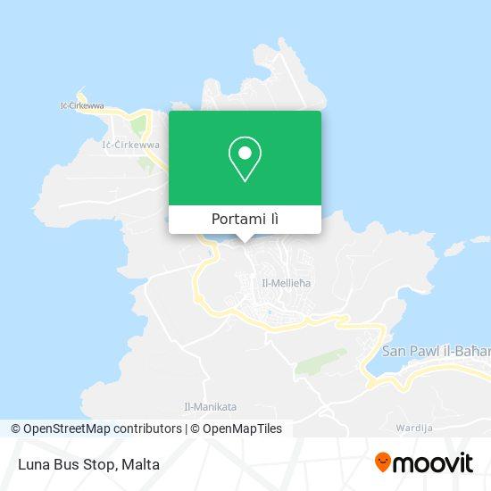 Mappa Luna Bus Stop
