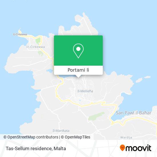 Mappa Tas-Sellum residence