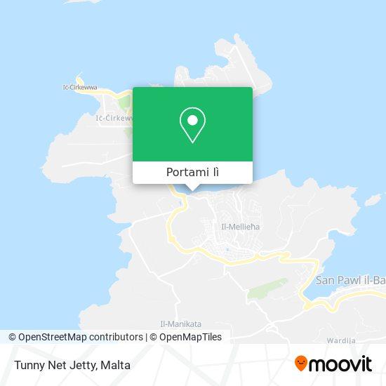 Mappa Tunny Net Jetty