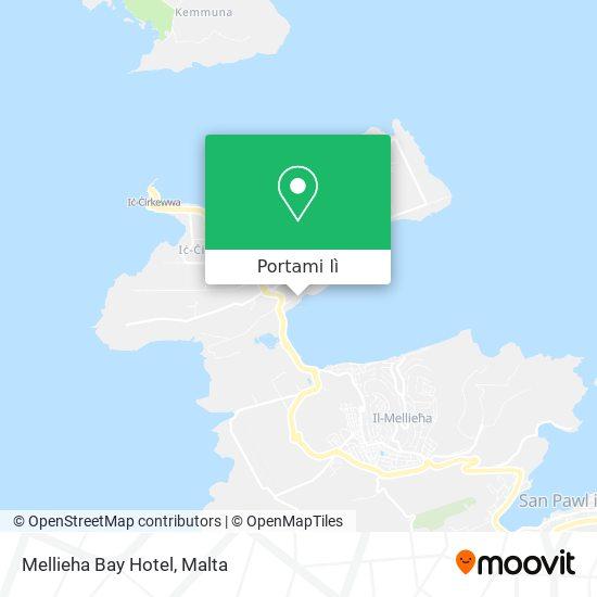 Mappa Mellieha Bay Hotel