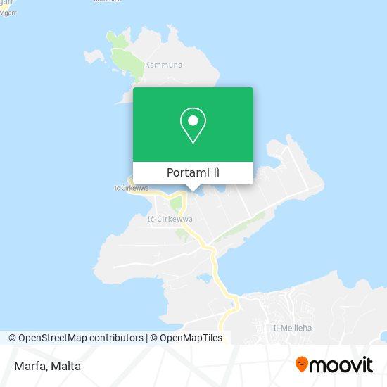 Mappa Marfa