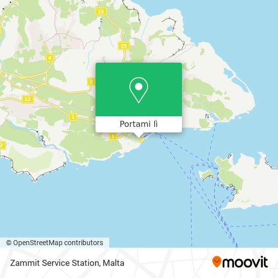 Mappa Zammit Service Station
