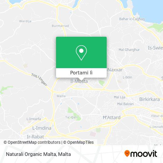 Mappa Naturali Organic Malta