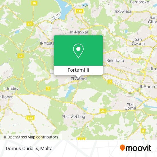 Mappa Domus Curialis