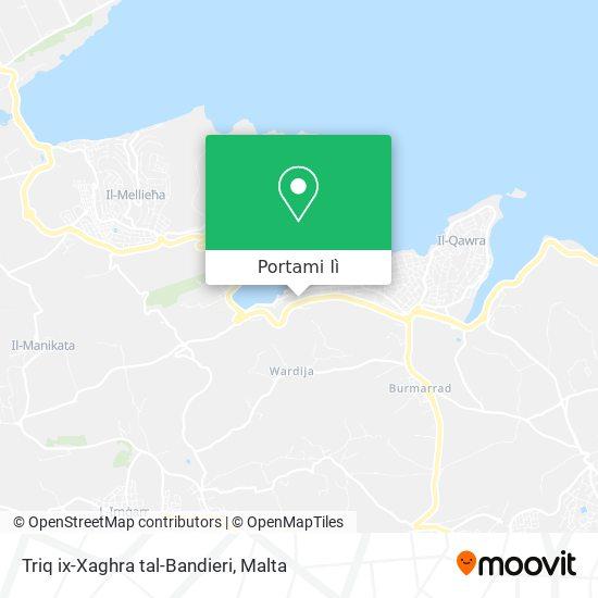 Mappa Triq ix-Xaghra tal-Bandieri