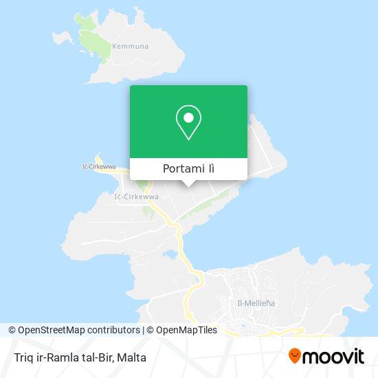 Mappa Triq ir-Ramla tal-Bir
