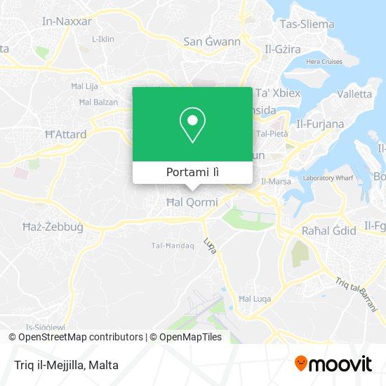 Mappa Triq il-Mejjilla
