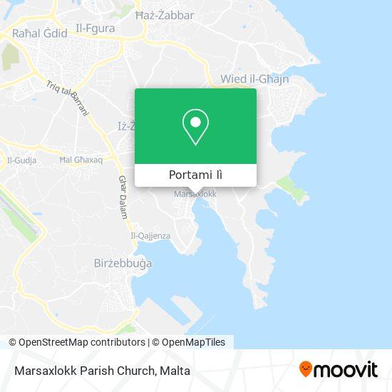 Mappa Marsaxlokk Parish Church