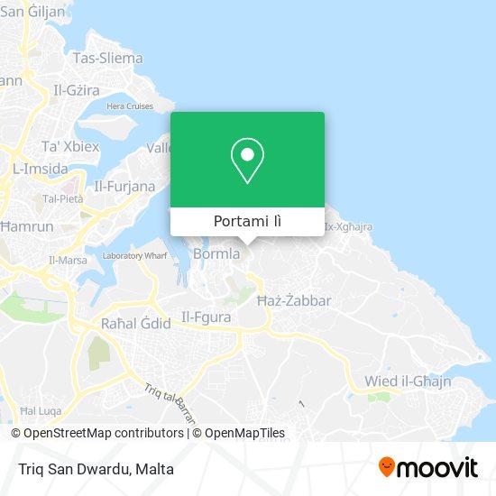 Mappa Triq San Dwardu