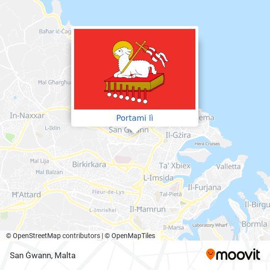 Mappa San Ġwann