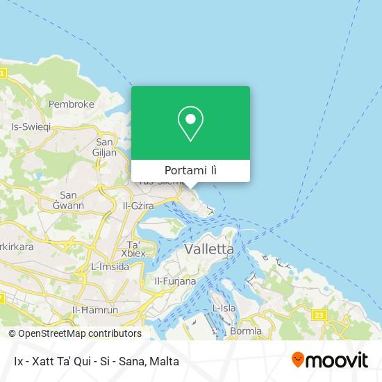 Mappa Ix - Xatt Ta' Qui - Si - Sana
