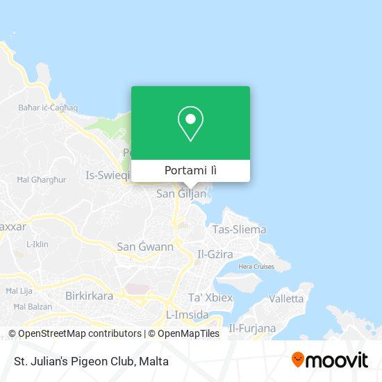 Mappa St. Julian's Pigeon Club