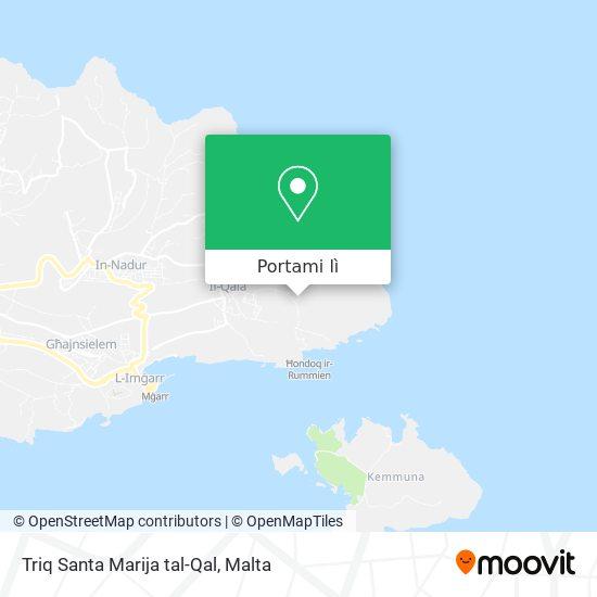 Mappa Triq Santa Marija tal-Qal