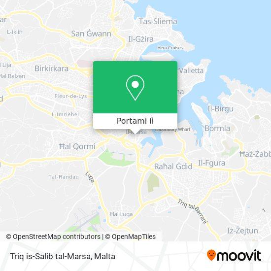 Mappa Triq is-Salib tal-Marsa
